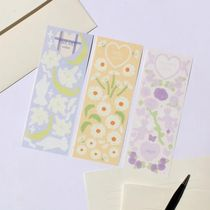 【Be on D】 Private Garden Seal Sticker 3SET