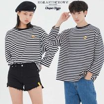 ROMANTIC CROWN★[CHUPA CHUPS X RMTCRW]STRIPED LONG SLEEVE
