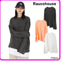 [RAUCOHOUSE] UNBALANCE INCISE LONG SLEEVE T (3color)
