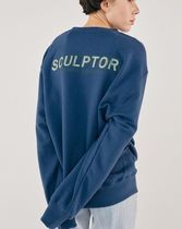 ◇SCULPTOR◇ロゴ◇STRIPE APPLIQUE SWEATSHIRT◇