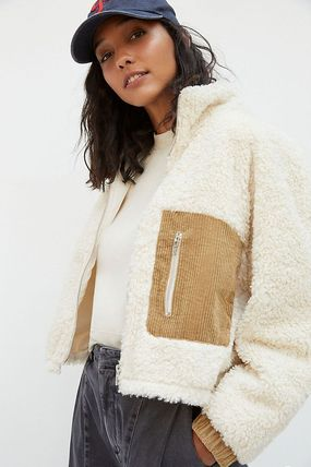 Anthropologie トップスその他 関税込み☆BLANKNYC Abbi Corduroy-Trimmed Sherpa Jacket(2)