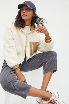 Anthropologie トップスその他 関税込み☆BLANKNYC Abbi Corduroy-Trimmed Sherpa Jacket(3)