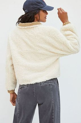 Anthropologie トップスその他 関税込み☆BLANKNYC Abbi Corduroy-Trimmed Sherpa Jacket(5)