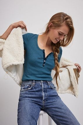 Anthropologie トップスその他 関税込み☆BLANKNYC Abbi Corduroy-Trimmed Sherpa Jacket(7)