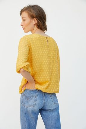 Anthropologie トップスその他 関税込み☆ Sunday in Brooklyn Sagres Textured Blouse(3)
