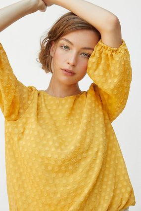 Anthropologie トップスその他 関税込み☆ Sunday in Brooklyn Sagres Textured Blouse(4)