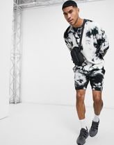 ASOS DESIGN co-ord oversized t-shirt with half sle