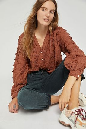 Anthropologie トップスその他 関税込み☆Seen Worn Kept Kathryn Textured Blouse(2)