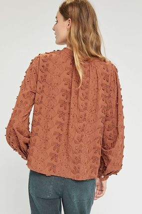 Anthropologie トップスその他 関税込み☆Seen Worn Kept Kathryn Textured Blouse(3)