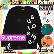 20FW /Supreme Scatter Logo L/S Top Tee ロンT Logo ロゴ 長袖