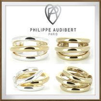◆Philippe Audibert◆ *NEAL* Gold & Silver 2色 三連 リング