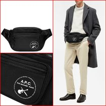 [A.P.C]. GUITAR LOGO WAIST BAG(送関込)