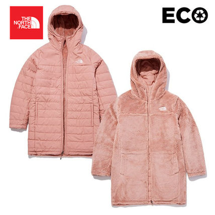 THE NORTH FACE ダウンジャケット・コート 【THE NORTH FACE】W MOSSBUD INSULATED REVERSIBLE PARKA(9)
