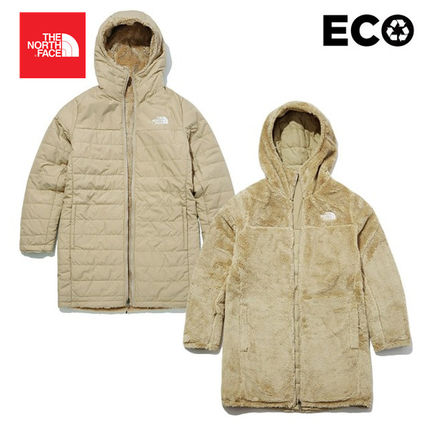 THE NORTH FACE ダウンジャケット・コート 【THE NORTH FACE】W MOSSBUD INSULATED REVERSIBLE PARKA(15)