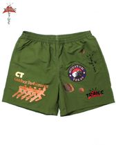 Cactus Jack Travis Scott Official Running Wild Shorts