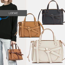 直営店買付 LOEWE Mini Gate top handle bag