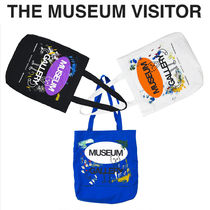 THE MUSEUM VISITOR(ザミュージアムビジター) ショルダーバッグ [THE MUSEUM VISITOR] MUSEUM GALLERY ECOBAG★エコバッグ