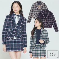 ★ROMANTIC CROWN★日本未入荷 ジャケット WOMANS CHECK JACKET