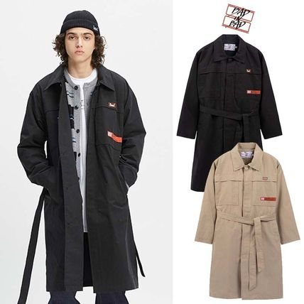 BAD IN BAD(べドインベド)★CHEST DOUBLE POCKET COAT 2カラー