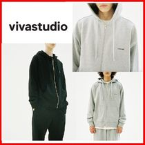 ◆VIVASTUDIO◆BASIC LOGO HOODIE ZIP UP JA 2colors◆正規品◆