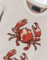 ASOS DESIGN knitted co-ord jumper with crab design