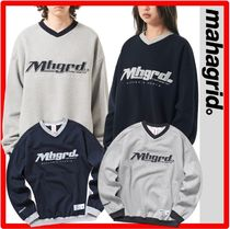 ☆☆韓国の人気☆mahagrid☆SPORTS TEAM SWEATSHIRT☆2色☆☆