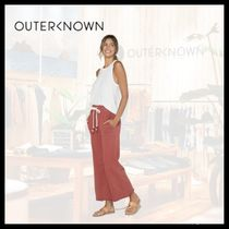Outer known(アウターノウン) ボトムスその他 【関税/送料込】OUTER KNOWN 2色 ルエラ スウェット パンツ
