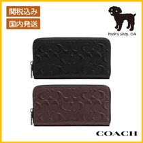 【COACH】Accordion Wallet In Signature Leather◆国内発送◆