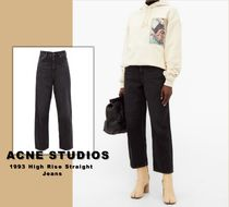 送料関税無料 [Acne Studios] 1993 High Rise Straight Jeans