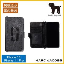 【MARC JACOBS】THE CHAINSTRAPDTM IPHONE BOOKCASE◆国内発送◆