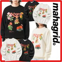 ☆☆韓国の人気☆mahagrid☆FLOWER SHOP SWEATSHIRT☆2色☆☆