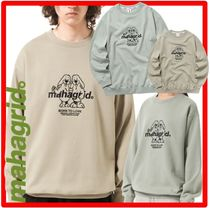 ☆☆韓国の人気☆mahagrid☆TWIN DOGGY SWEATSHIRT☆2色☆☆