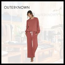 Outer known(アウターノウン) スウェット・トレーナー 【関税/送料込】OUTER KNOWN 4色 ルエラ スウェット シャツ