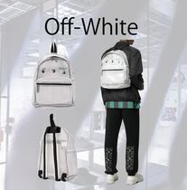Off-White ロゴ バックパック