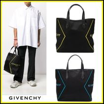 GIVENCHY★ロゴプリント トートバッグ【国内発送】