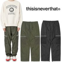 ★thisisneverthat★Mesh Pocket Pant 2色