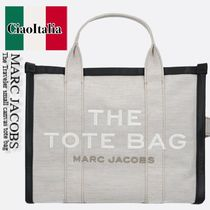 MARC JACOBS   The Traveler small canvas tote bag