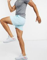 ASOS 4505 training shorts in mid length in pastel