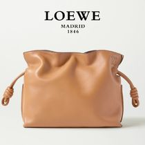 ∞∞ LOEWE ∞∞ Flamenco mini leather クラッチ☆Warm Desert