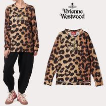 【VivienneWestwood】レオパード ボーイズ長袖Tシャツ