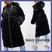 JUICY COUTURE(ジューシークチュール) コート ☆Juicy Couture☆Helenaパフコート ブラック 関税・送料込