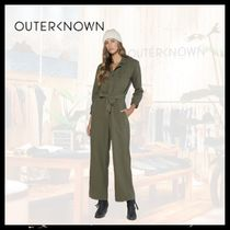 Outer known(アウターノウン) オールインワン・サロペット 【関税/送料込】OUTER KNOWN 2色 スカウト ジャンプ スーツ