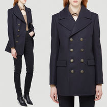 WSL1754 DOUBLE-BREASTED PEACOAT IN WOOL