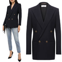 WSL1757 WOOL TWILL DOUBLE BREASTED JACKET