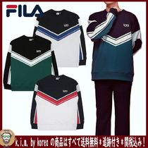 ∞ FILA ∞BTS着用!未入荷!NEW BLOCKING SWEATSHIRT