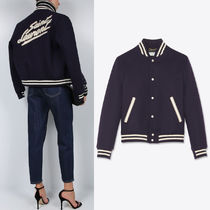 WSL1759 SAINT LAURENT TEDDY JACKET