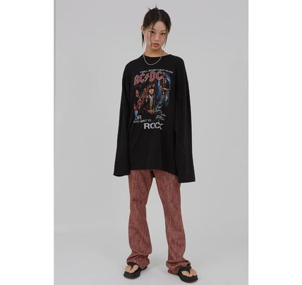 Raucohouse Tシャツ・カットソー Raucohouse ACDC Rock over fit long T-shirt(12)