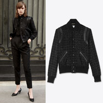 WSL1765 TEDDY JACKET IN LAME HOUNDSTOOTH WITH SEQUINS