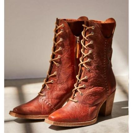 Free People ミドルブーツ 日本発送☆Free People☆Canyon Lace Up Boots レースアップ(2)