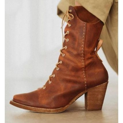 Free People ミドルブーツ 日本発送☆Free People☆Canyon Lace Up Boots レースアップ(3)